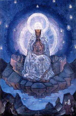 La_Madre_del_Mundo_por_Nicolas_Roerich