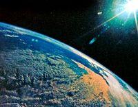 Earth from space nasa glenn