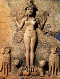 Lilith-sumerianrelief