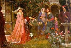 John-william-waterhouse-the-enchanted-garden-83551