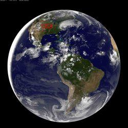 NOAA-Goes-Satellite-Earth-am-Sunday