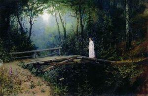 Rafail-Sergeevich-Levitsky-Bridge_in_the_Woods