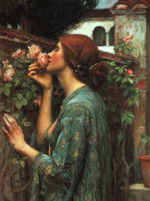 My Sweet Rose John William Waterhouse